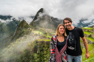 Natalie and Mirko, Machu Picchu Peru