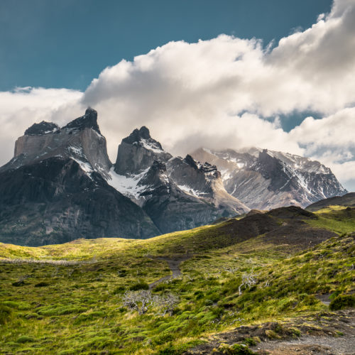 Torres del Paine, panoramic picture