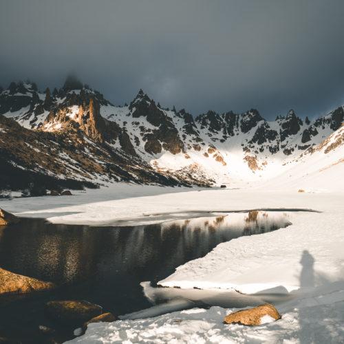 Refugio Frey, Bariloche, Patagonia, Argentina.